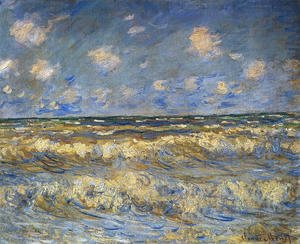 Claude Oscar Monet - Rough Sea