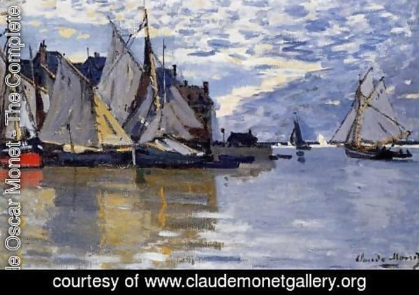 Claude Oscar Monet - Sailboats
