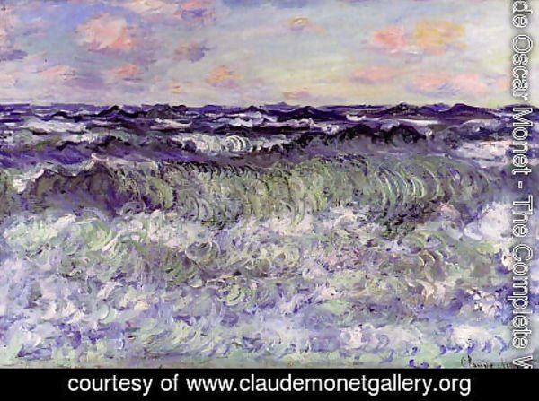 Claude Oscar Monet - Sea Study