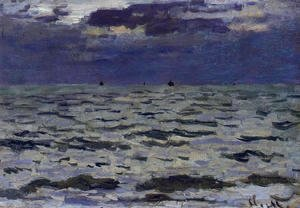 Claude Oscar Monet - Seascape