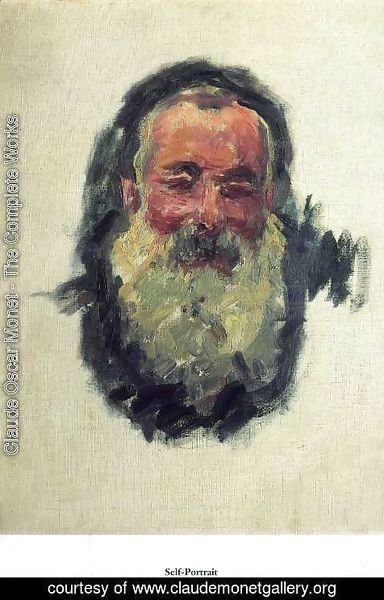 Claude Oscar Monet - Self Portrait