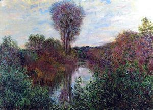 Claude Oscar Monet - Small Arm Of The Seine At Mosseaux