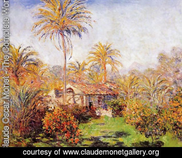 Claude Oscar Monet - Small Country Farm In Bordighera