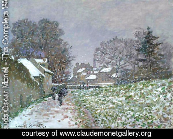 Claude Oscar Monet - Snow At Argenteuil2