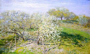 Claude Oscar Monet - Springtime Aka Apple Trees In Bloom