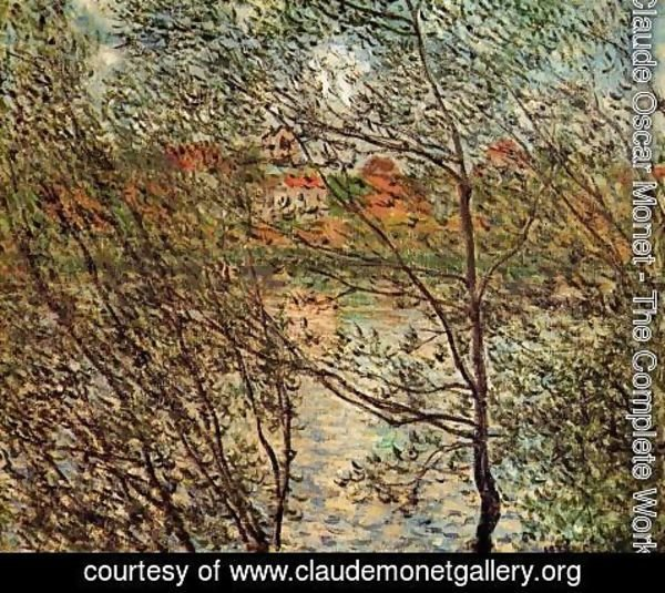 Claude Oscar Monet - Springtime Through The Branches