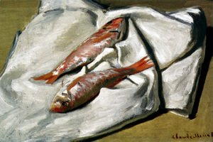 Claude Oscar Monet - Still Life Red Mullets