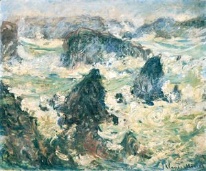 Claude Oscar Monet - Storm On The Cote De Belle Ile
