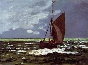 Claude Oscar Monet - Stormy Seascape