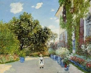 Claude Oscar Monet - The Artists House At Argenteuil