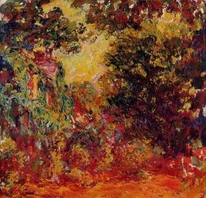 Claude Oscar Monet - The Artists House Seen From The Rose Garden