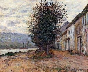 The Banks Of The Seine At   (Claude Oscar Monet   1878)