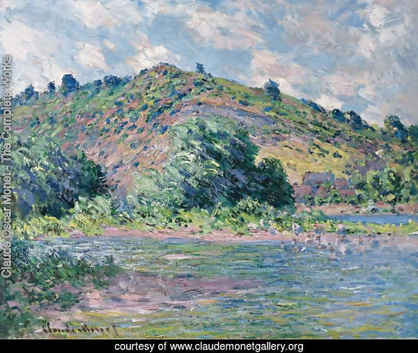 The Banks Of The Seine At Port Villez