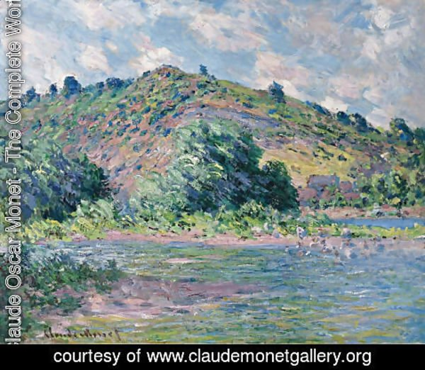 Claude Oscar Monet - The Banks Of The Seine At Port Villez