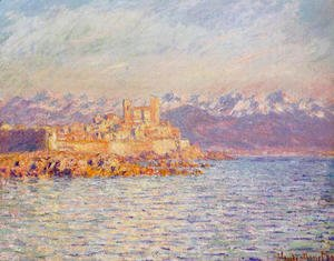 Claude Oscar Monet - The Bay Of Antibes