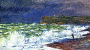 Claude Oscar Monet - The Beach At Fecamp