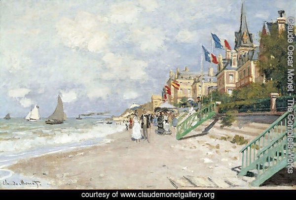 The Beach At Trouville2