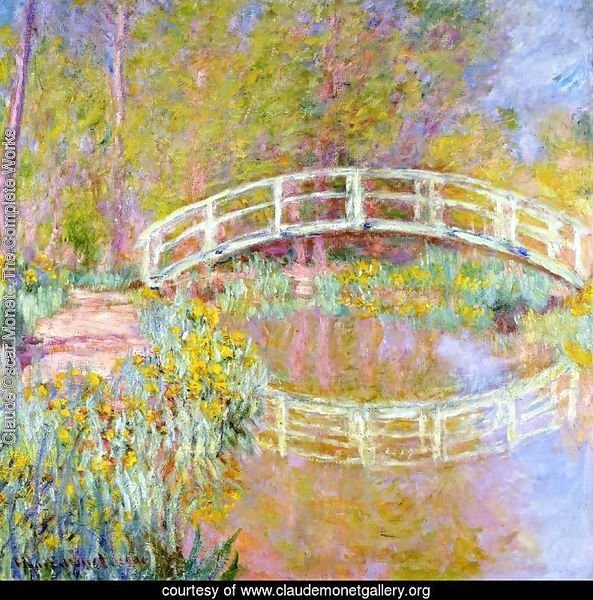 The Bridge In Monets Garden