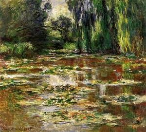 Claude Oscar Monet - The Bridge Over The Water Lily Pond