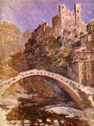 Claude Oscar Monet - The Castle At Dolceacqua