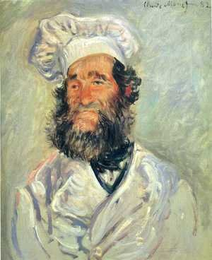 Claude Oscar Monet - The Chef  Pere Paul