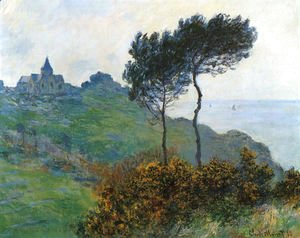 The Church At Varengaville  Grey Weather