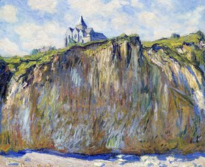 Claude Oscar Monet - The Church At Varengeville