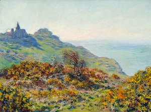 Claude Oscar Monet - The Church At Varengeville And The Gorge Of Les Moutiers