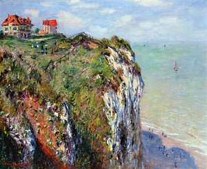 Claude Oscar Monet - The Cliff At Dieppe
