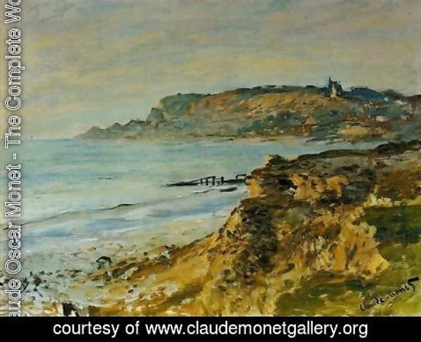 Claude Oscar Monet - The Cliff At Sainte Adresse