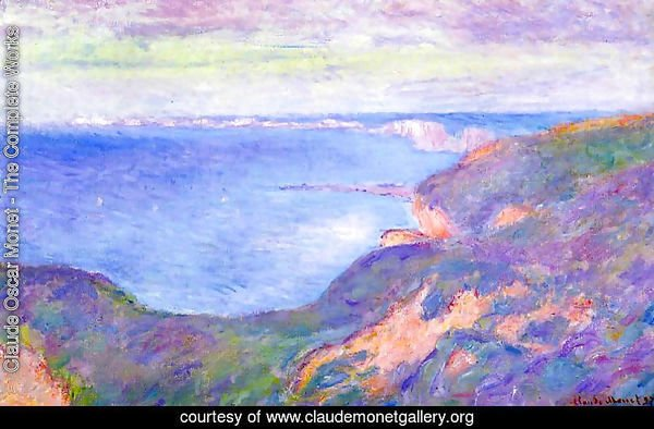 The Cliff Near Dieppe