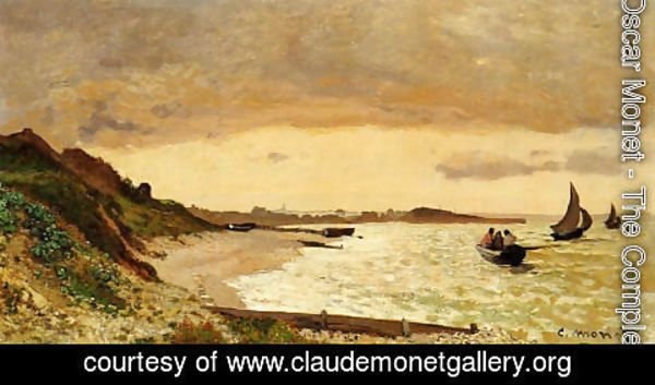 Claude Oscar Monet - The Coast At Sainte Adresse