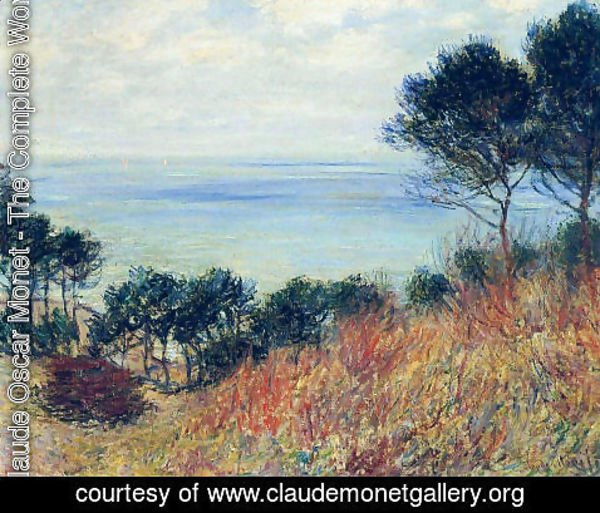 Claude Oscar Monet - The Coast Of Varengeville