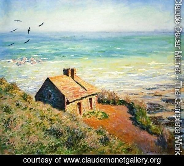 Claude Oscar Monet - The Costoms House  Morning Effect
