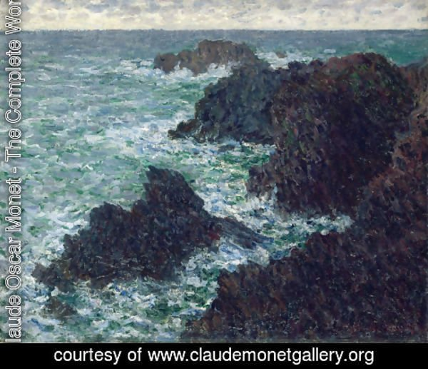 Claude Oscar Monet - The Cote Sauvate