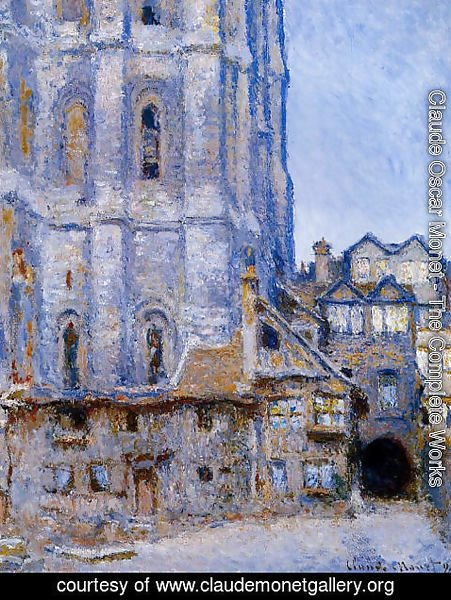 Claude Oscar Monet - The Cour D Albane