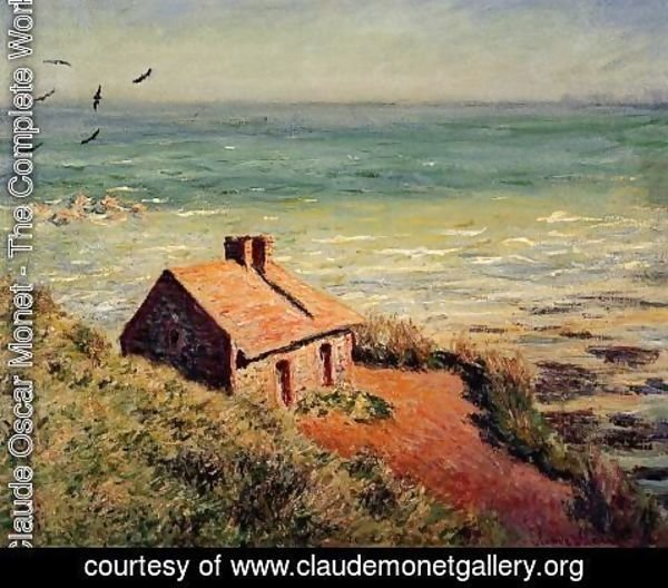 Claude Oscar Monet - The Custom House  Morning Effect