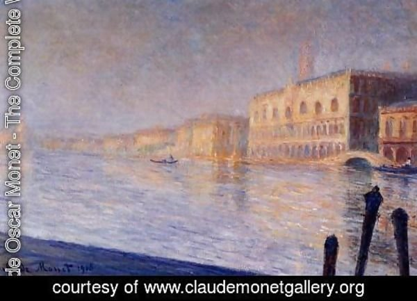 Claude Oscar Monet - The Doges Palace
