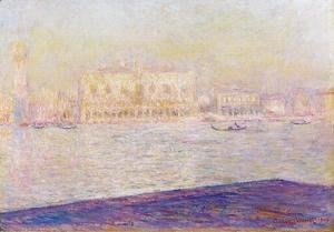Claude Oscar Monet - The Doges Palace Seen From San Giorgio Maggiore2