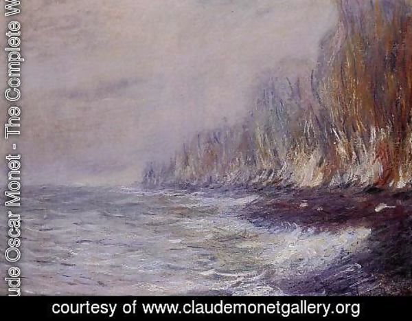 Claude Oscar Monet - The Effect Of Fog Near Dieppe