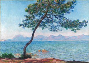 Claude Oscar Monet - The Esterel Mountains