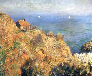 Claude Oscar Monet - The Fishermans House At Varengeville