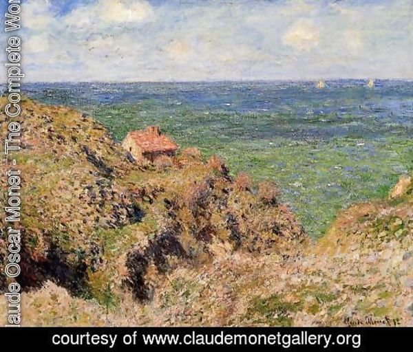 Claude Oscar Monet - The Gorge At Varengeville