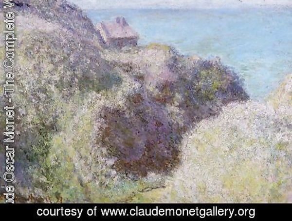 Claude Oscar Monet - The Gorge Du Petit Ailly  Verengeville  Grey Weather