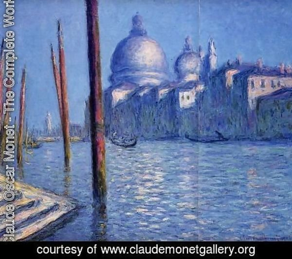 Claude Oscar Monet - The Grand Canal2