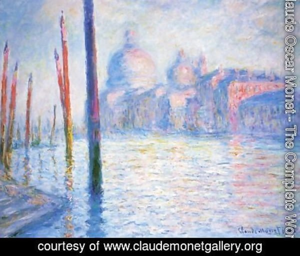 Claude Oscar Monet - The Grand Canal3