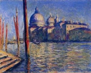 Claude Oscar Monet - The Grand Canal And Santa Maria Della Salute