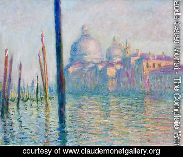 Claude Oscar Monet - The Grand Canal  Venice