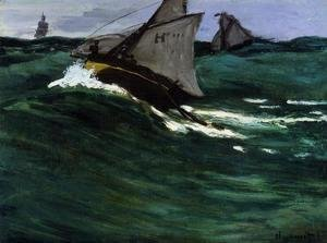 Claude Oscar Monet - The Green Wave