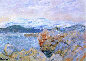 Claude Oscar Monet - The Gulf Juan At Antibes